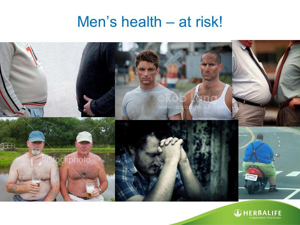 Men's health – at risk!