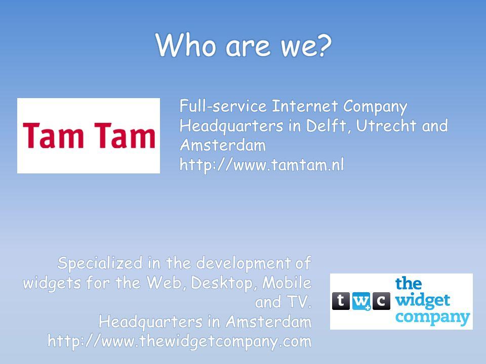 www.tamtam.nl @TamTamNL carlos.sardo@tamta m.nl http://nl.linkedin.com/in/carlossar do