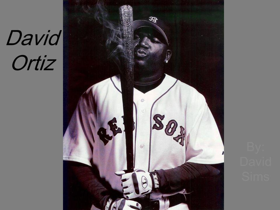 David Ortiz By: David Sims