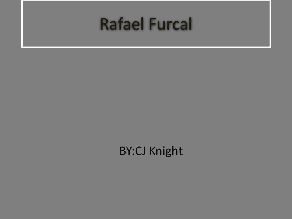 Rafael Furcal BY:CJ Knight