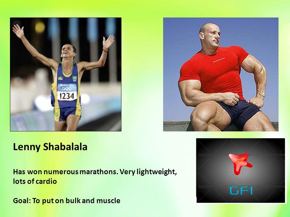 Lenny Shabalala Has won numerous marathons.