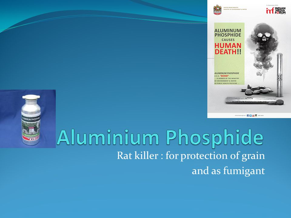 Rat killer : for protection of grain and as fumigant