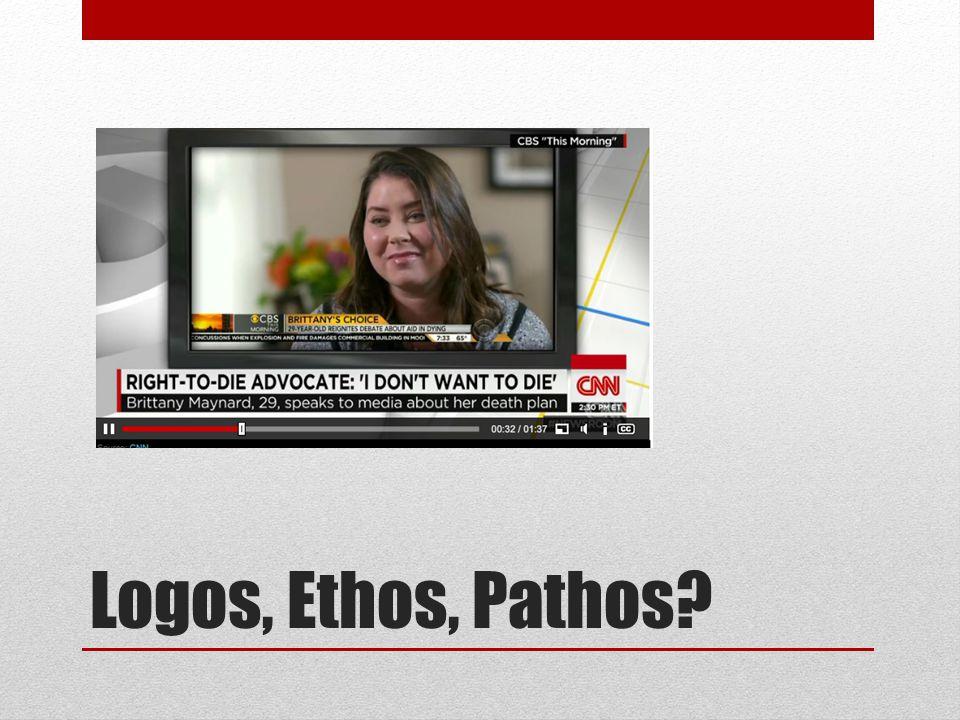 Logos, Ethos, Pathos?