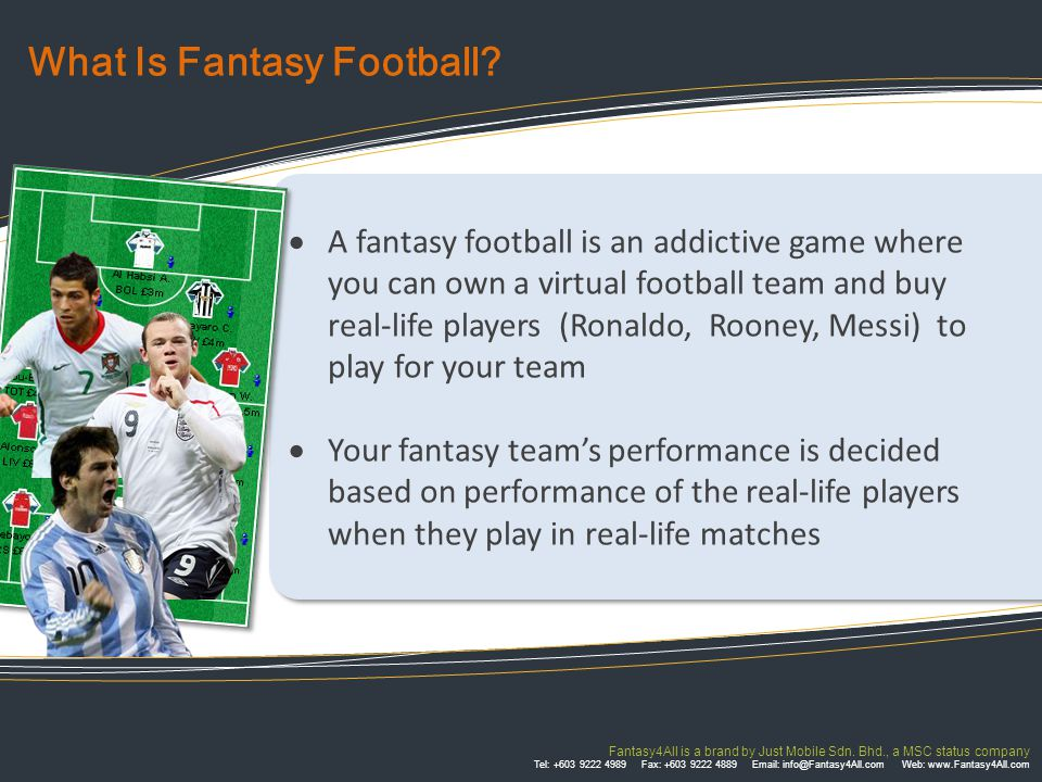 Fantasy4All is a brand by Just Mobile Sdn.
