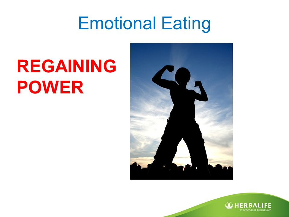 Emotional Eating REGAINING POWER