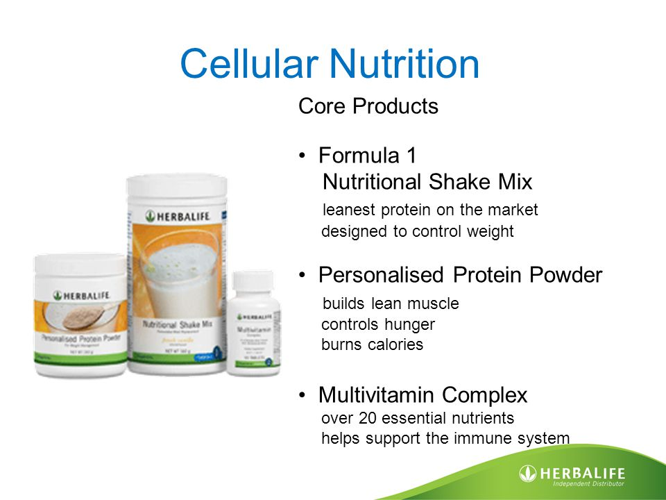 Cellular Nutrition Core Products Formula 1 Nutritional Shake Mix leanest protein on the market designed to control weight Personalised Protein Powder