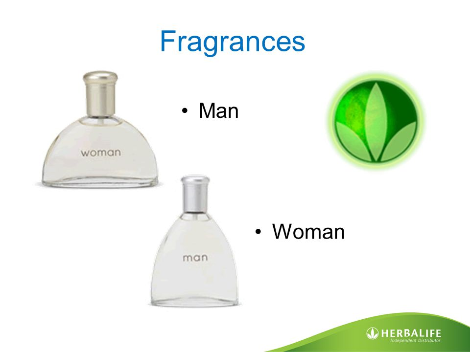 Fragrances Man Woman