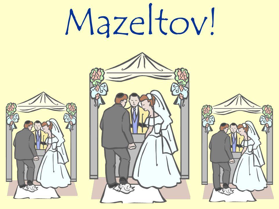 Mazeltov!