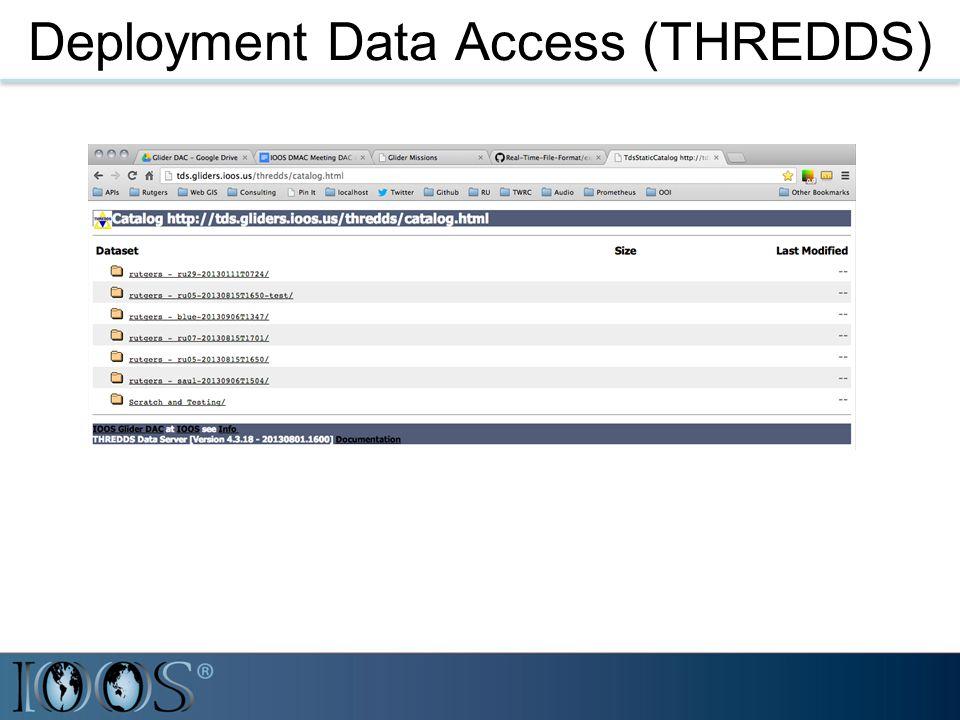 Deployment Data Access (THREDDS)