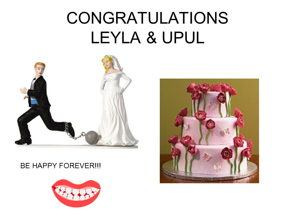 CONGRATULATIONS LEYLA & UPUL BE HAPPY FOREVER!!!