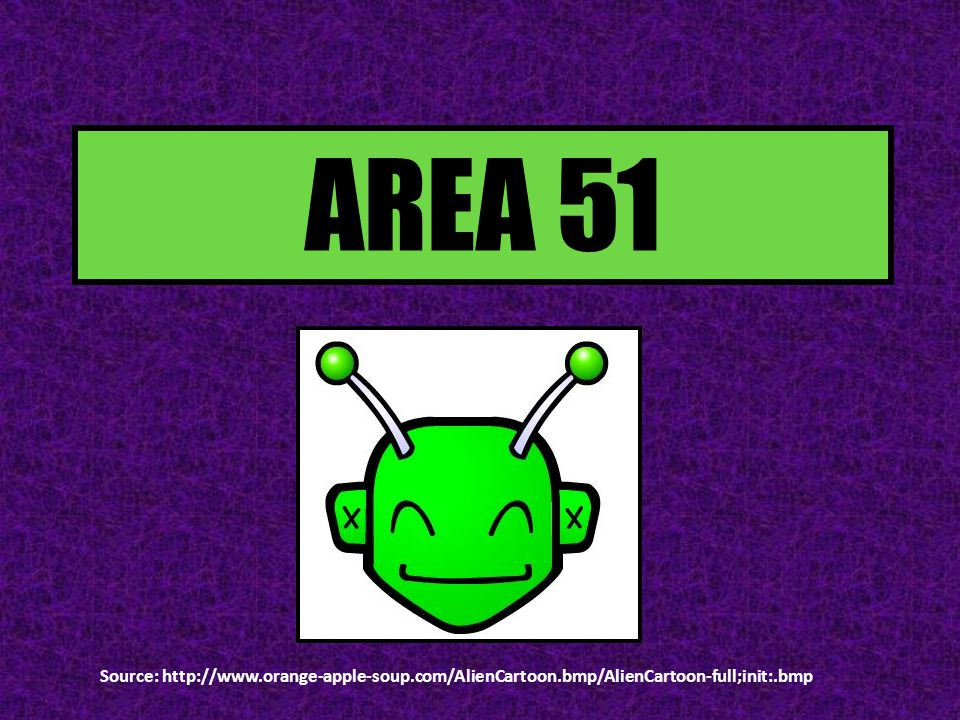 INTRODUCTION Area 51 is said to be a U.S.