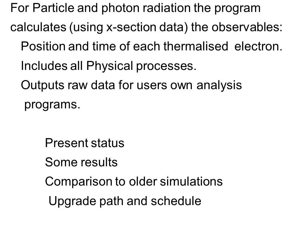 XENON Photon interaction length 20 C 1 bar N5 N3 M5 M2 L3 K N4 N2 M4 M1 L2 N1 M3 L1