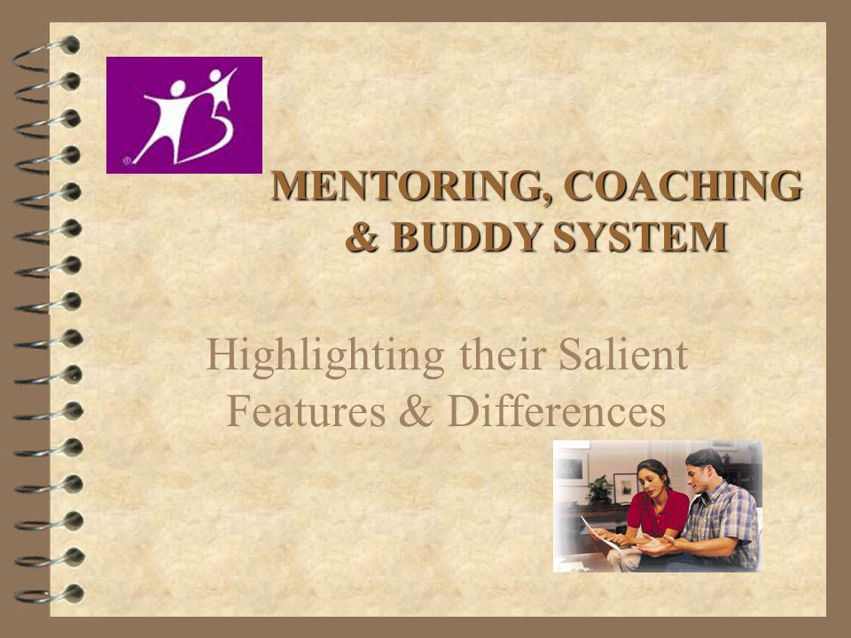 MENTORING, COACHING & BUDDY SYSTEM Highlighting their Salient Features & Differences