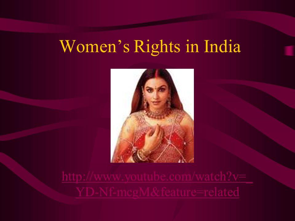 Bride Burning in India http://www.youtube.com/watch?v=gLUp_j4 UVzshttp://www.youtube.com/watch?v=gLUp_j4 UVzs