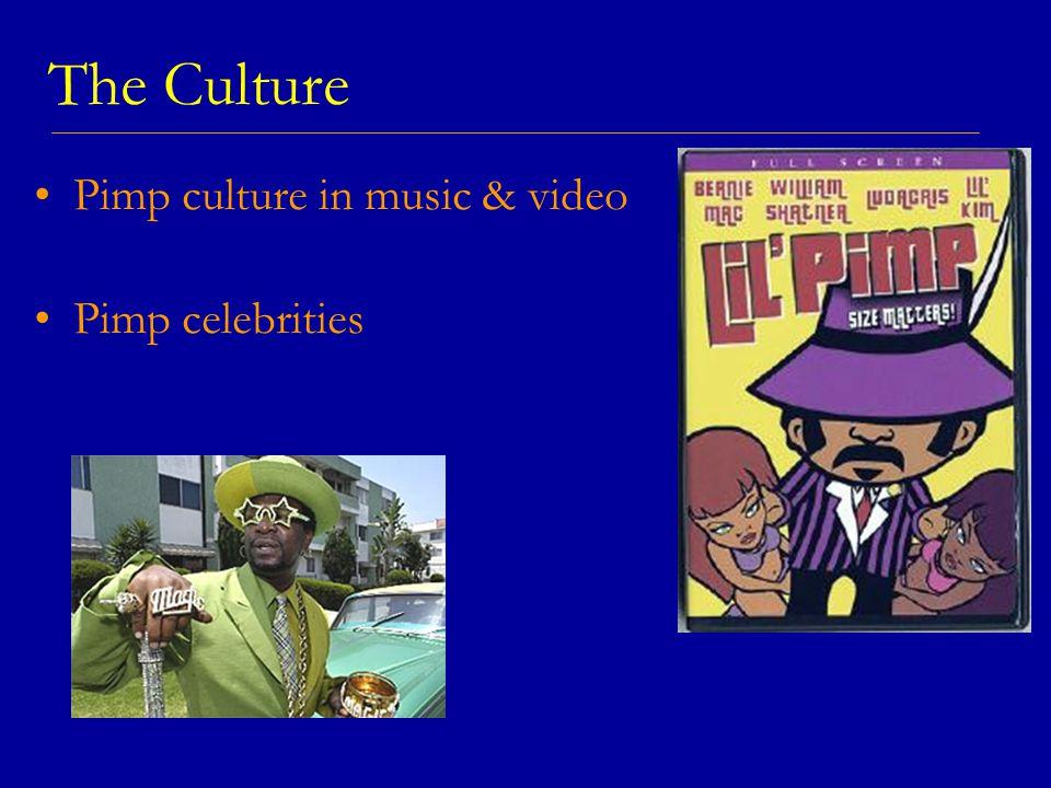 The Culture Pimp culture in music & video Pimp celebrities