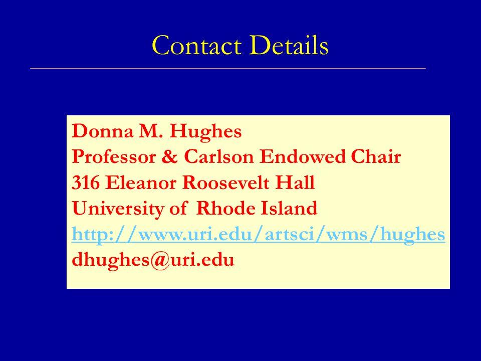 Contact Details Donna M.