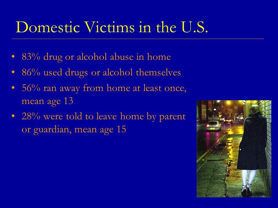 Domestic Victims in the U.S.