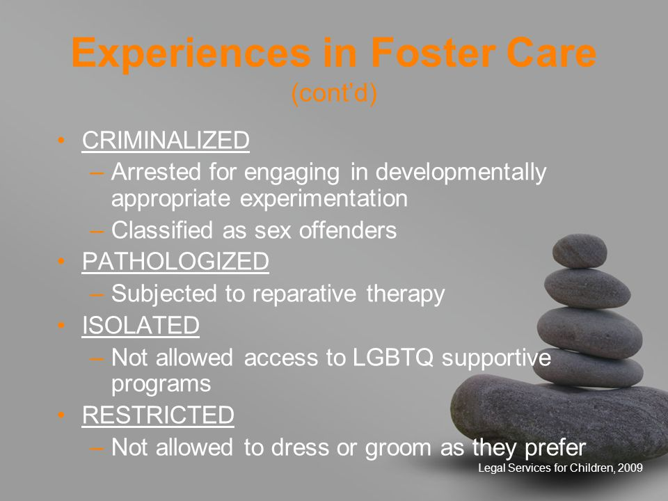 Legal Services for Children, 2009 Contact Information Linda Chiu, MSW Legal Services for Children 415-863-3762, x 323 linda@lsc-sf.org Carolyn Reyes, Esq., MSW Legal Services for Children 415-863-3762, x 314 carolyn@lsc-sf.org