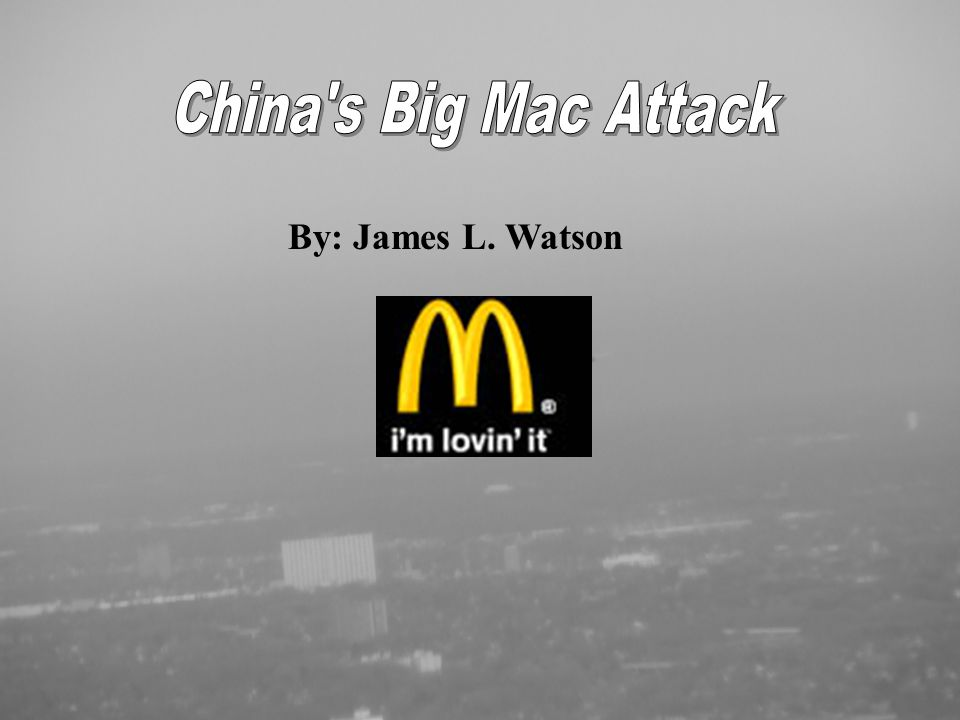 American food chains and beverages are everywhere in Central Beijing - Coca-Cola, Starbucks, KFC, Dunkin' Donuts, Baskin Robbins, Pepsi, TCBY, Pizza Hut and of course McDonald's - As of 1999, McDonald's had opened 235 restaurants in China.