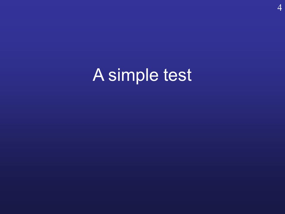 A simple test 4