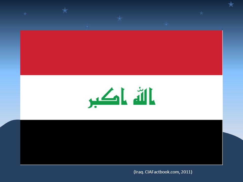 (Iraq. CIAFactbook.com, 2011)