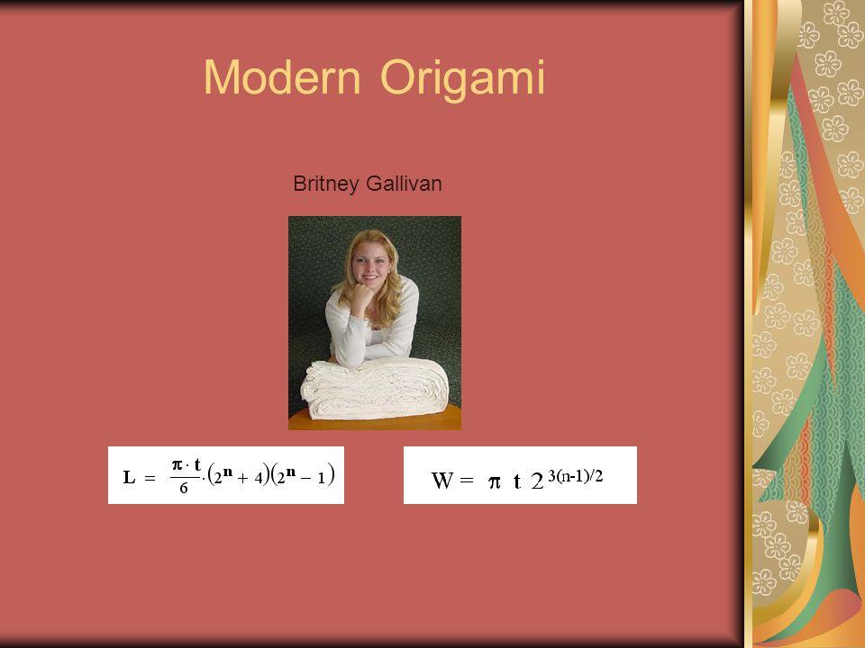 Modern Origami Britney Gallivan
