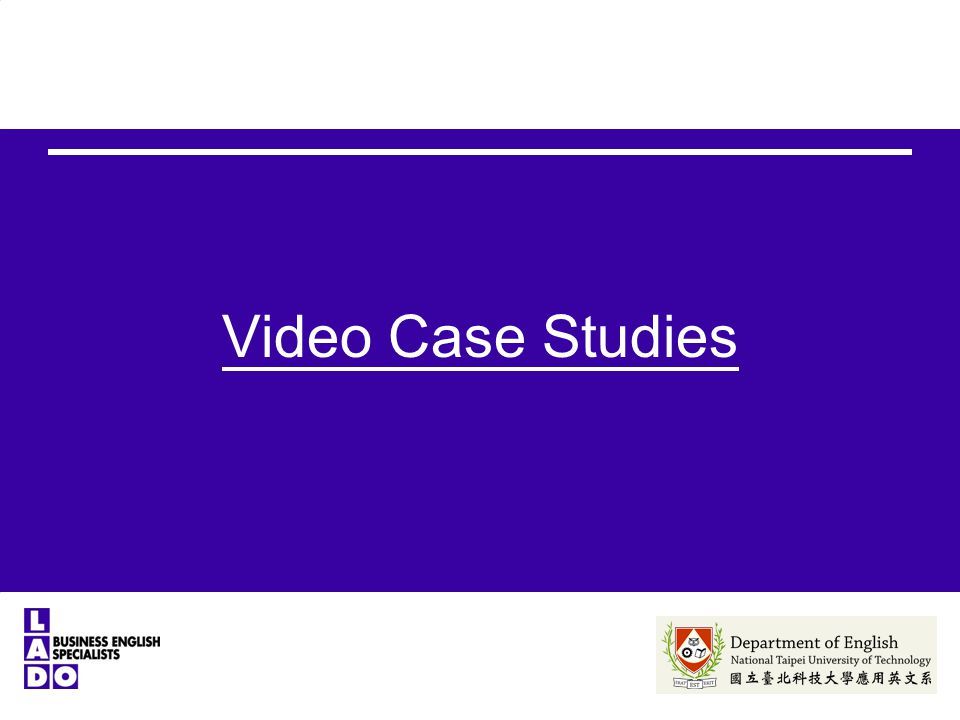 Video Case Studies