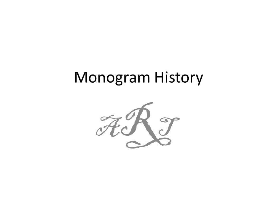 Monogram History ARTART
