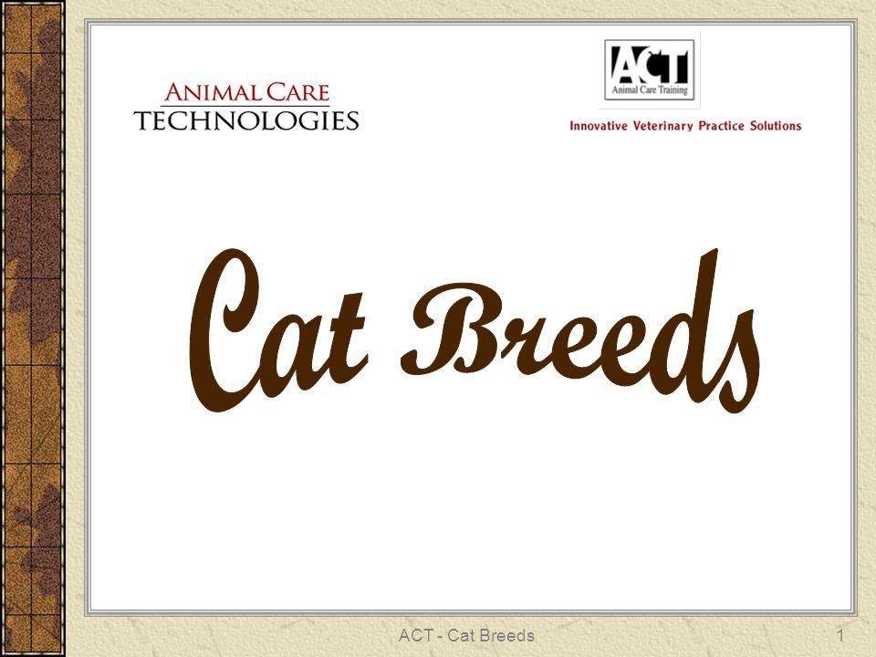 ACT - Cat Breeds1