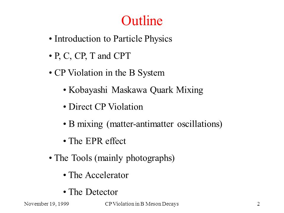 November 19, 1999CP Violation in B Meson Decays53 The Central Drift Chamber