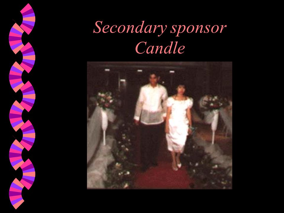 Secondary sponsor Candle