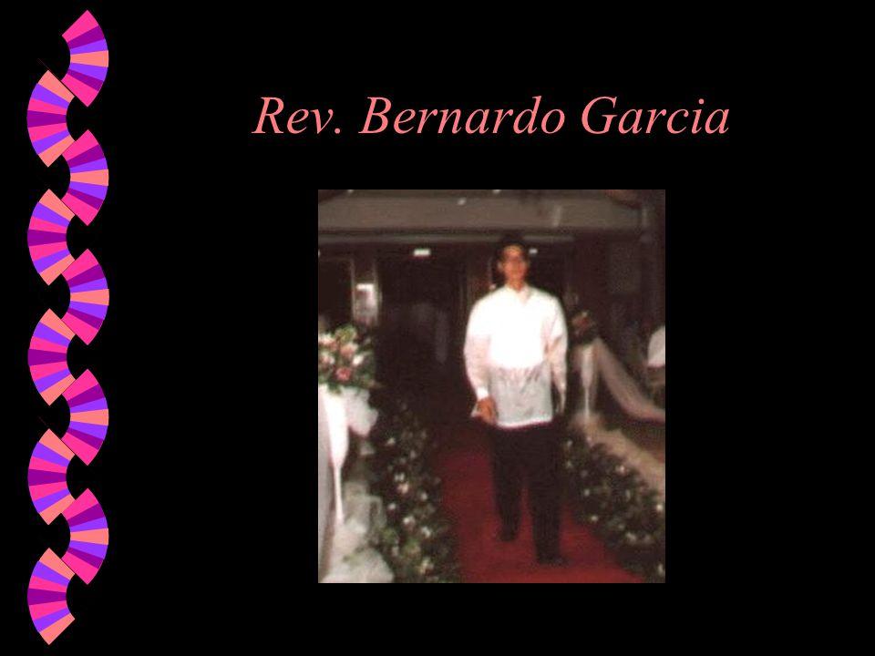 Rev. Bernardo Garcia