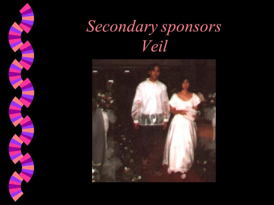 Secondary sponsors Veil