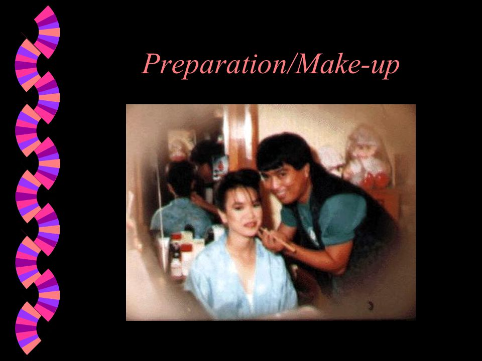 Preparation/Make-up
