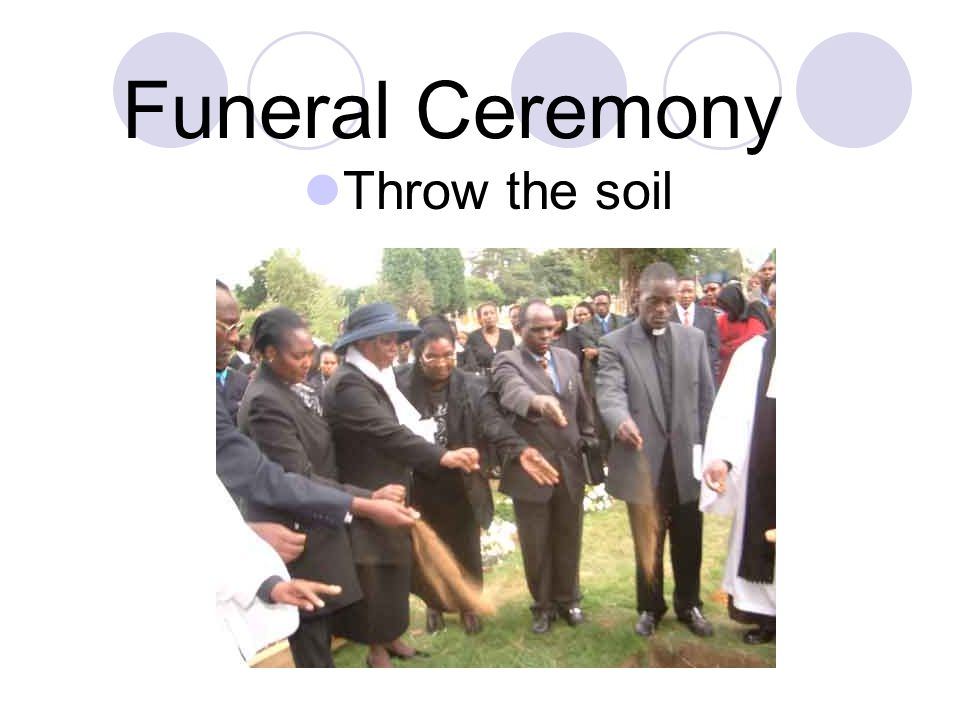 Funeral Ceremony Burial Service