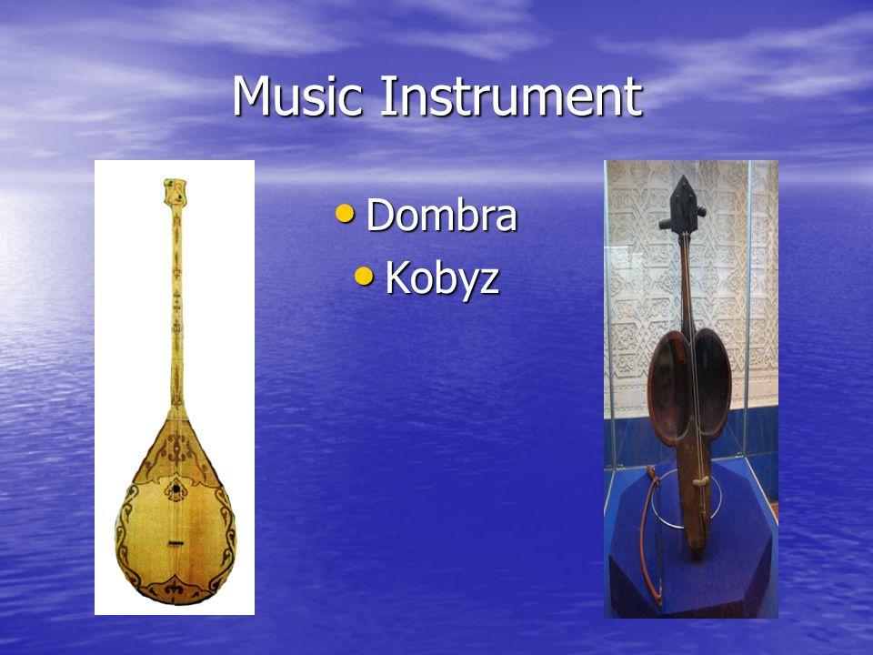 Music Instrument Dombra Dombra Kobyz Kobyz