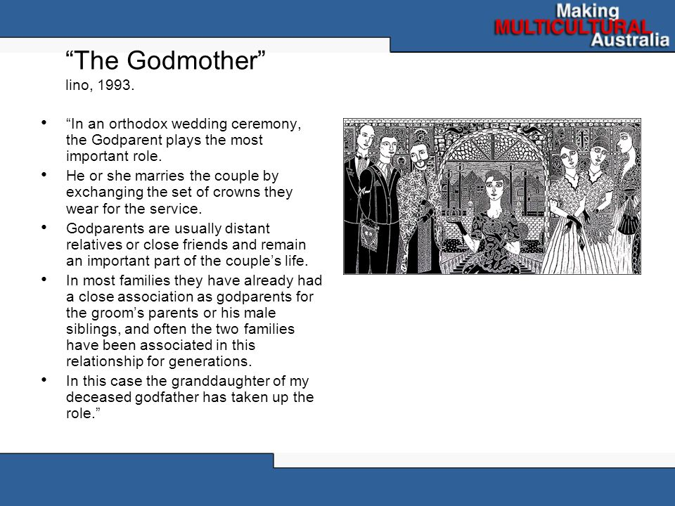 The Godmother lino, 1993.