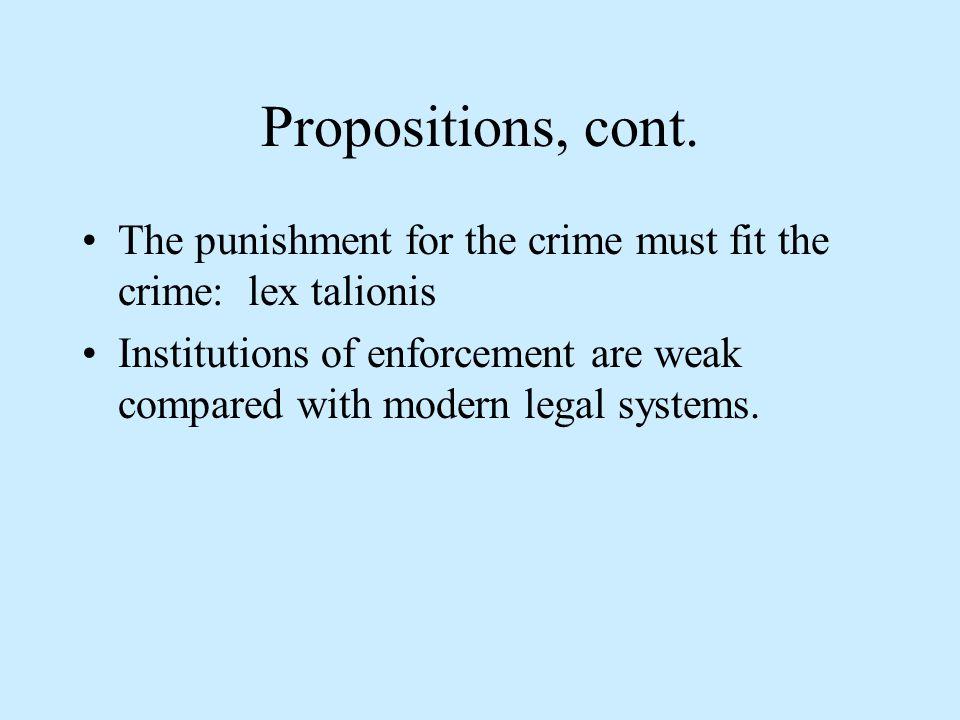 Propositions, cont.