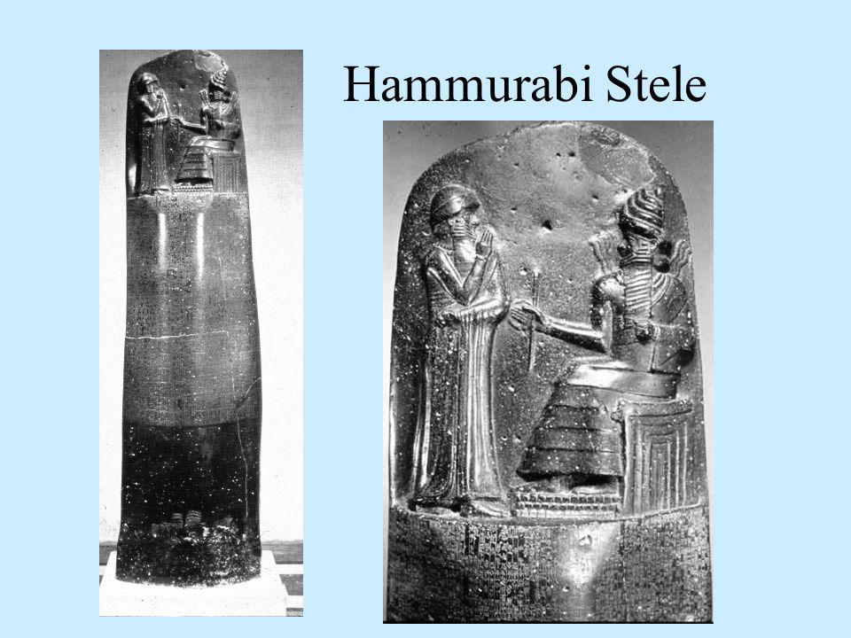 Hammurabi Stele