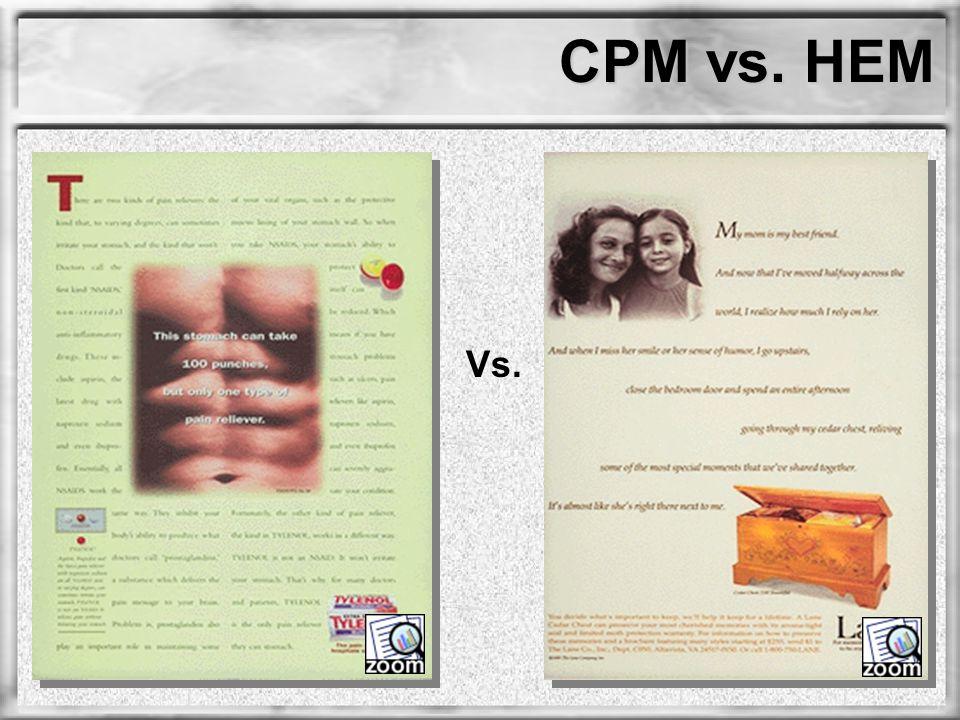 CPM vs. HEM Vs.