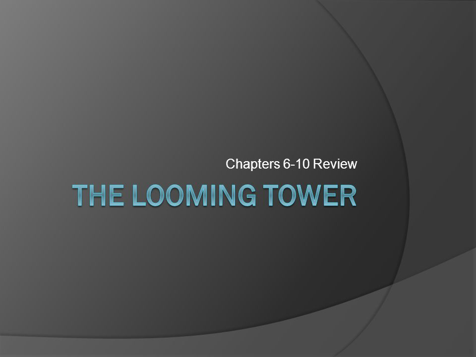 Chapters 6-10 Review
