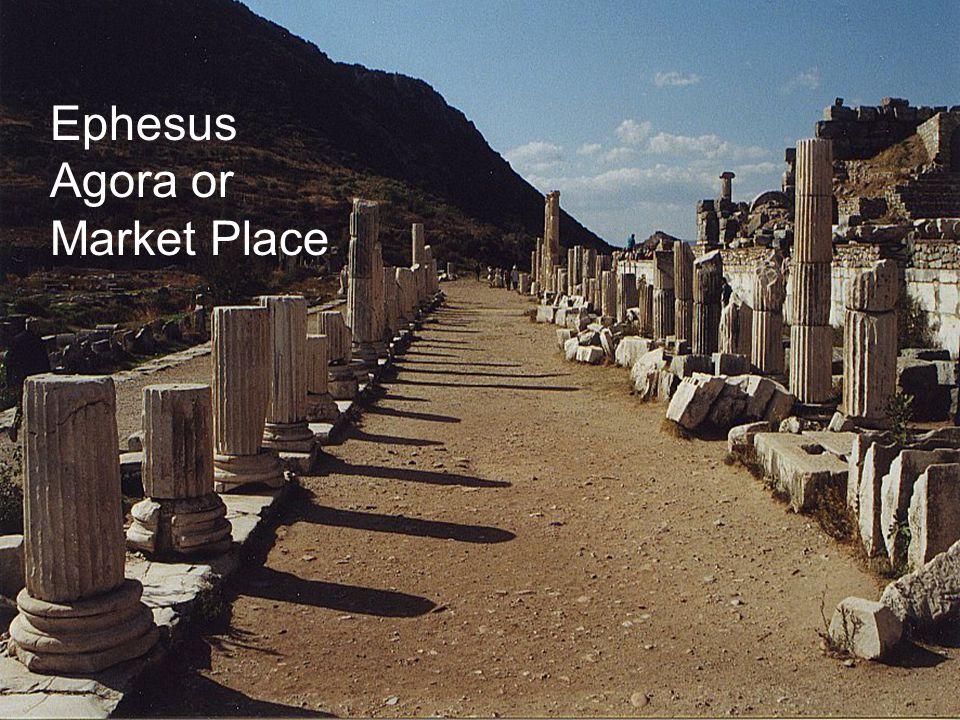 Ephesus Agora or Market Place