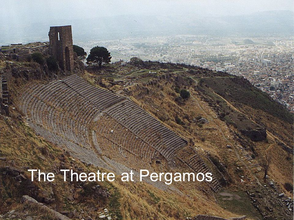 The Theatre at Pergamos