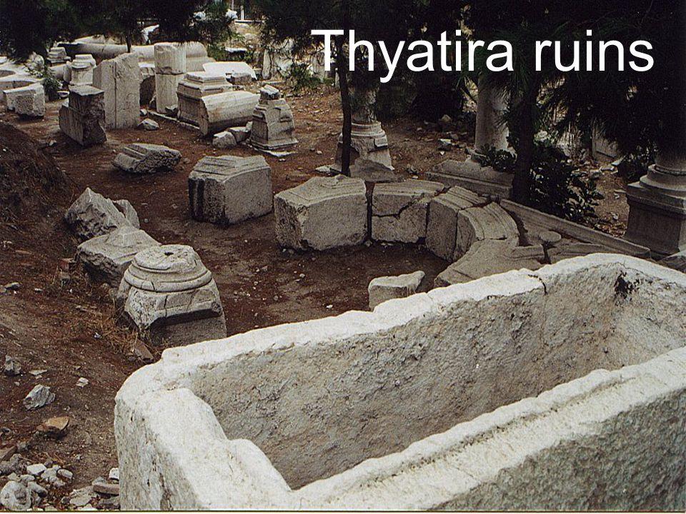 Thyatira ruins