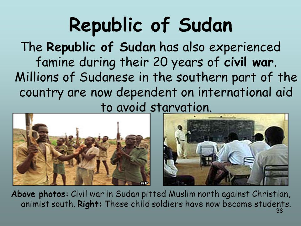 39 Uganda The country of Uganda has had to deal with fighting among a wide variety of armed people, including different ethnic groups, rebel forces trying to overthrow the government, armed gangs, and military factions.