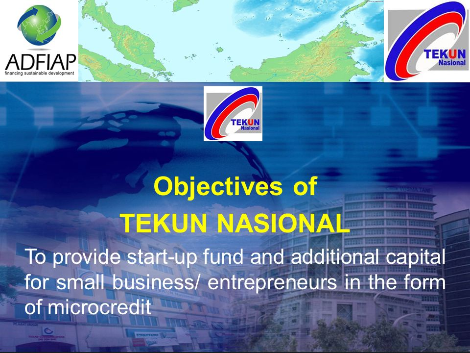 TEKUN ENTREPRENEURS COMMUNITY  As a platform for entrepreneurs to know each other and develop networking  To market their products  To find suppliers