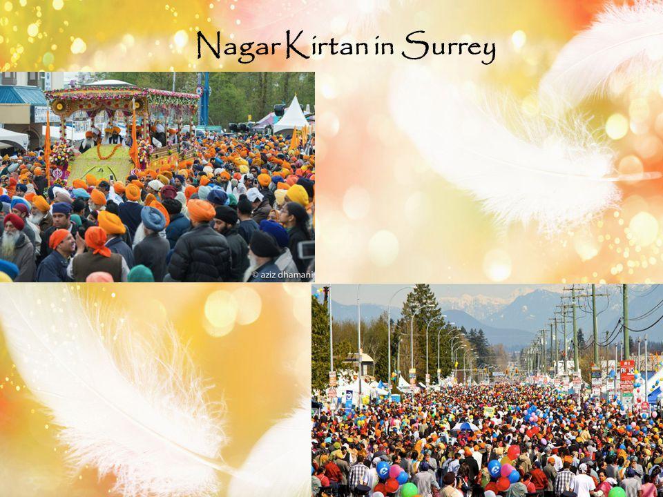 Nagar Kirtan in Surrey