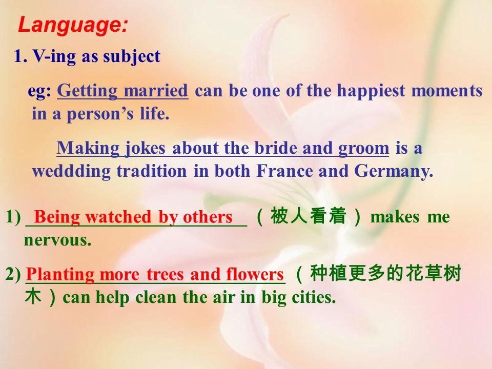 Language: 1.