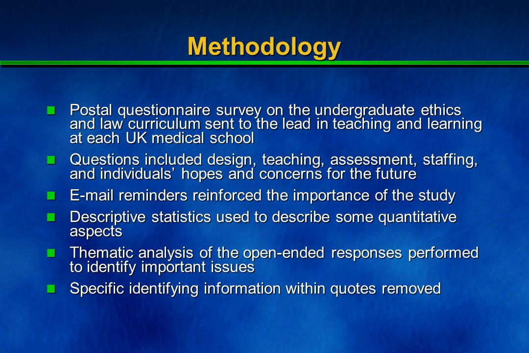 Questions for today  How much critical medical ethics is appropriate to include within undergraduate courses.