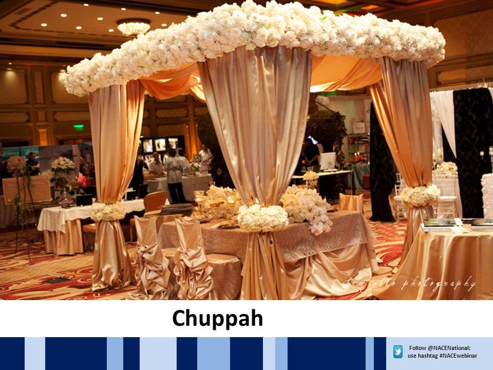 Follow @NACENational; use hashtag #NACEwebinar Chuppah